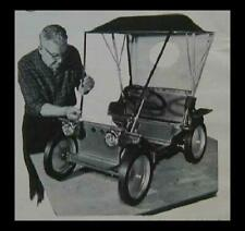 Classic Sidewalk Touring Car Buggy 12v powered How-To build Plans