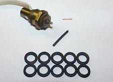 """Ronson Varaflame spares, flat seals for 10 burner valves typ """"A"""" inside"""