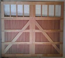9x8 Wood Overhead Carriage House Garage Door AmanaDoors Model 102W8
