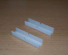 2 Stück Verbinder 1 Paar Schienenverbinder für Vorhangschienen PVC-Schienen neu