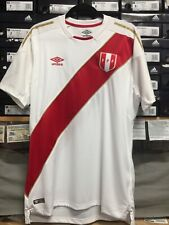 399f0634d Umbro Peru Home Jersey Russia 2018 White Red Size Medium Only
