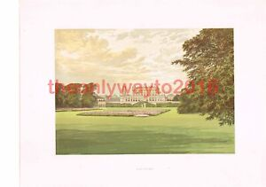 Cliveden, Bucks, Nr Maidenhead, England, Book Illustration, c1880