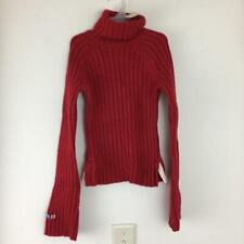 NEW Abercrombie Kids Girls Turtleneck Red Sweater Size S Small  NWT