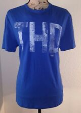 "NWT Tommy Hilfiger Men Classic Fit Crew Neck ""THD"" Logo T-Shirt"