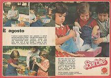 X9492 Piscina, Valigia e abitini di BARBIE - Pubblicità 1977 - Advertising