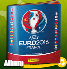 PANINI UEFA EM EURO FRANCE 2016 Sticker – ALBUM VUOTO EMPTY ALBUM GERMANY + bonus!