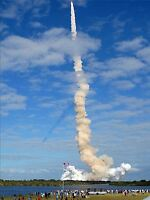 SPACE SHUTTLE ATLANTIS STS-129 MISSION ART PRINT POSTER 273PYA
