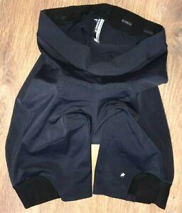 Assos womens black padded cycling shorts size L