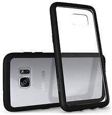 Diztronic Voyeur Case for Samsung Galaxy S7 Edge - Matte Black TPU + Clear PC