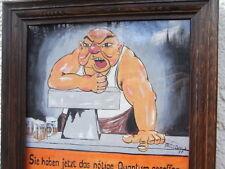 Sign Spruch Bild gemalt Tresen Lokal Theke Gaststätte Restaurant Kneipe Haus Bar