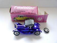 Cadillac 1913 in blau bleu blue, Novoexport Radon UdSSR USSR CCCP in 1:43 boxed!