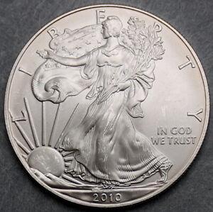 USA $1 2010 1oz Silver Eagle   #476048
