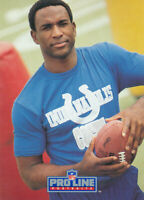 Eric Dickerson 1991 Pro Line Portraits #68 Indianapolis Colts Football Card