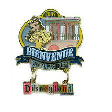 BIENVENUE BELLE PIN Disneyland Annual Passholder AP Welcome Collection 2007 NEW