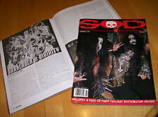 S.O.D. zine #23 Celtic Frost Witchery Bestial Mockery Cretin Summoning RARE OOP