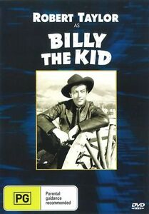 Billy The Kid DVD Robert Taylor New and Sealed Australian Release