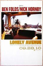 BEN FOLDS & NICK HORNBY Album POSTER 2010 Lonely Avenue