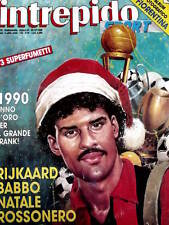 Intrepido 52 1990 Poster Jean Alesi & Poster Agassi - Nazionale Italia
