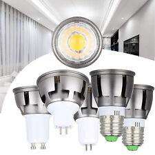 GU10 MR16 GU5.3 E27 LED Regulable COB Bombillas Spotlight 6W 9W 12W RML55 Lámpara Brillante