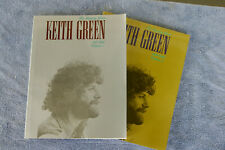 Keith Green Ministry Years Vols 1 And 2 Christian Song Book