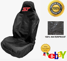 ST - Car Seat Cover Protector x1 Sports Bucket Recaro  / FORD FIESTA ST