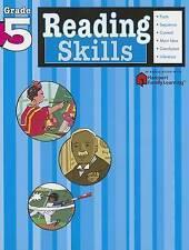 Reading Skills: Grade 5 (Flash Kids Harcourt Family Learning)-ExLibrary