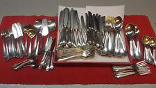 Besteck Kleeblatt Patent 90 er Silber 12 Personen 124 Teile Fischbesteck