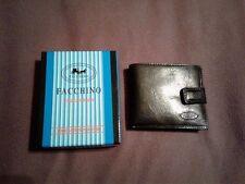 Wholesale Lot of 12 NEW  Men's FACCHINO FABRETTI Black Bifold Wallet  Bulk Gift