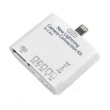 5in1 USB Camera Connection Adapter Kit SD Card Reader for iPad 4 Mini Air HME