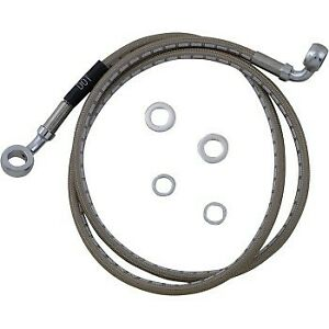 Russell Braided Front Brake Line Kit 25in. Upper Length - Stainless R08756DS