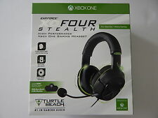 Turtle Beach Ear Force XO Four Stealth Gaming Headset Xbox One New
