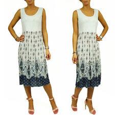 Wadenlange Damenkleider im Boho-Stil