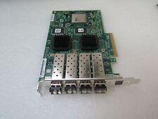 LSI Logic LSI7404EP-LC PCI-E Quad-Channel 4Gb/s Fibre Adapter w/ 4 SFP 4GB