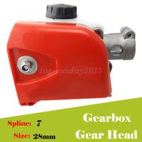 Universal Pole saw Chainsaw Tool Gearbox Gear head Trimmer 28 mm 7 Spline