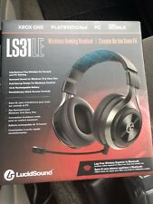 LucidSound LS31LE Universal Wireless Gaming Headset -New GOOD FOR TRASH TALKING