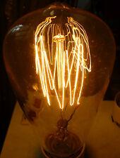 Paulmann RUSTIKA Dekolampe E27 60W Glühlampe ähnl. Kohlefadenlampe Squirrel Cage