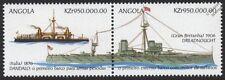 HMS DREADNOUGHT (1906) Battleship & ENRICO DANDALO Ironclad Warship Stamps