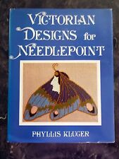 CRAFT BOOK - VICTORIAN DESIGNS FOR NEEDLEPOINT, KLUGER, 1978