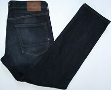 Scotch & Soda Ralston Jeans - 36 W / 32 L - Slim - Dark Blue Denim Stretch Mens
