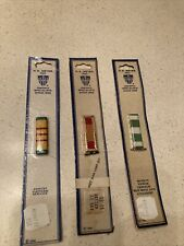 3 N.S. Meyer INC. Vietnam Campaign Service Unit Insignia Medals New On Card Nice