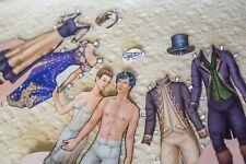 Cinderella paper dolls bonus edition with new costumes! Original designs