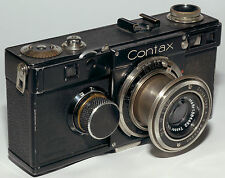 Rare collectible Zeiss Contax Ia rangefinder camera with Tessar 5cm 1:3.5 lens