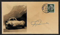 1939 Porsche 64 Collector Envelope w Original Period 1930s Stamp *OP1165