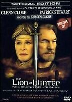 The Lion in Winter Nel Regno del Crimine DVD Nuovo Director's Cut Close Stewart
