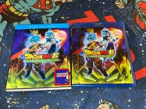 Dragon Ball Super: Broly The Movie (Blu-ray/DVD 2018) Brand New (expired code)