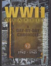 WWII DIARIES, Vol. 2: July, 1942-September, 1945 (DVD, 2014, 10-Disc Set) - NEW