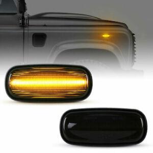 LED Indicators For Land Rover Discovery 2 Freelander 1 Defender Black