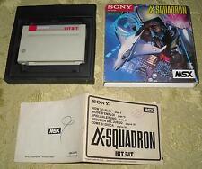 Alpha-SQUADRON Game msx