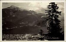 Sankt Gilgen Österreich Salzburg AK 1930 Abersee Wolfgangsee Panorama See Berge