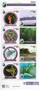 STAMPS COLOMBIA 2021 - NATIONAL NATURAL PARKS -